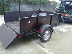 Off Road Trailer, Utility Trailer, Land Rover Defender, Camping, Trailers, Cargo Trailers, Motorbikes, Cars Motorcycles, Back Doors