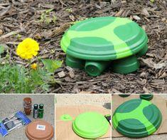 Terracotta Clay Pot Turtles Tutorial