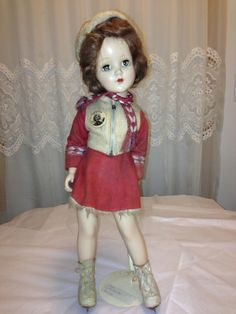 Rare Madame Alexander SONJA HENIE Skater Doll