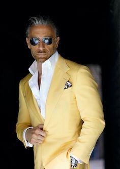 Blazer Outfits Men, Mens Fashion Blazer, Suit Fashion, Older Mens Fashion, Stylish Mens Outfits, Sharp Dressed Man, Well Dressed Men, Dapper Men, Men Looks