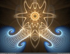 Fractal Flame round-100-2-86-2 by exper, via Flickr