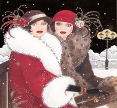 art deco christmas - Google Search