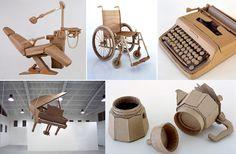 objetos cotidianos hechos de cartón reciclado  pdf actividades niños