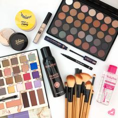 Makeup Pallets, Cheap Makeup, Hair And Nails, Ruby Rose, Eyeshadow, Cosmetics, Instagram, How To Make, Beauty