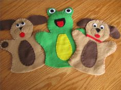 Easy-to-Make Animal Puppets: a consideration for the youngest age group of boys...