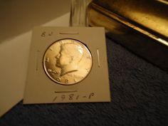 1981-P // BU MS   // JFK  HALF DOLLAR  //  M-1342