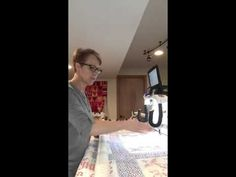 """How to flatten a """"not so perfect"""" quilt or wavy border! - YouTube"""