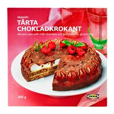 IKEA - TÅRTA CHOKLADKROKANT, Almond cake,chocolate/butterscotch, An almond cake with chocolate, butter cream and butterscotch. Serve as a dessert with coffee or tea. This product is gluten free.