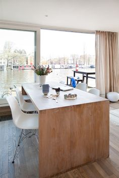 houseboat in Amsterdam (I want to live on a houseboat!!)