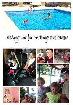 Are you a pro at making time for things that matter?  Most of us are.  Does that also include prioritizing time to be able to spend with your children?  Read our guest writer's thoughts and see if you agree.