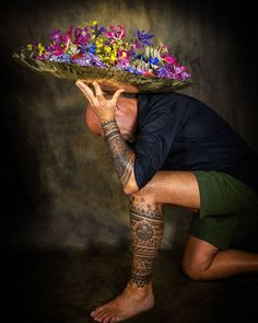 Captain Hat, Floral Design, Hats, Artist, Fashion, Moda, Hat, Fashion Styles, Floral Patterns