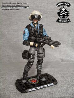 Star Wars custom figure Rebel Fleet Trooper (Special Forces)