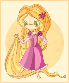 Rapunzel wishes you a happy new year! by agusmp.deviantart.com on @deviantART