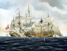 Ship paintings (Art collection) - Page 3 - History - Game-Labs Forum Sailboat Art, Nautical Art, Old Sailing Ships, Sailing Boat, Renaissance Portraits, Ship Of The Line, Ship Paintings, Naval History, Historical Art