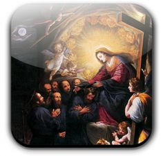 The seven founders of the Order of Servites