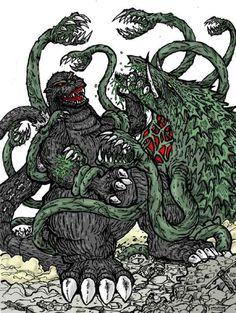 Godzilla King of Monsters - Godzilla vs. Biollante