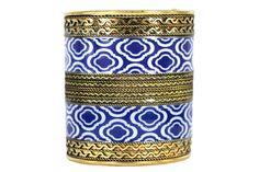 Grand bracelet manchette en métal doréavec pièce de métal effet mosaïque très chic et sophistiqué. Pierre Turquoise, Jewelry Bracelets, Bracelet Or, Chic, Native American Jewelry, Handcrafted Jewelry, Nice Jewelry, Indian Jewelry, Jewelry Collection
