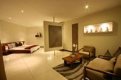 Master bedroom with pivoting wall   K Villas   www.kvillasholidays.com