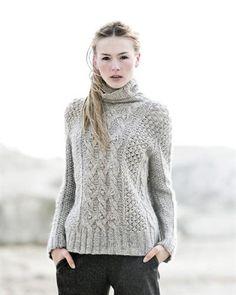 Finstrikket - Buttercup sweater - Sommerfuglen