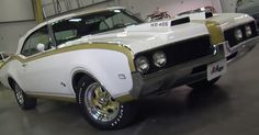 This 1969 Hurts Olds Convertible is a very rare and perfectly restored muscle car. Only two were built as they are very high performance machines. Double click on the image for the story of this Classic car.