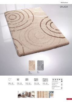 This unique bath rug adds fun and flair to every bathroom and has a very soft medium pile / with high pile density. Bathroom Rug Sets, Bath Rugs, Unique Rugs, Cool Rugs, Bath Mat, Fun, Illustrations, Medium, Luxury