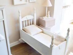 Me encanta  como ha  quedado esta #cuna #vintage  #cradle #nurserydecor #handmade #habitaciónbebe  #ベビー #手作り #babybump #twitter
