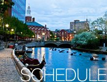 Waterfire! Don't miss it when you are visiting Providence, RI.