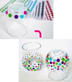 DIY Confetti Cups - perfect for a fun get together! Made with transparent glitter adhesive vinyl. Diy Confetti, Kitchen Vinyl, Stemless Wine Glasses, Fun Cup, Glitter Vinyl, Rubbing Alcohol, Summer Parties, Adhesive Vinyl, More Fun