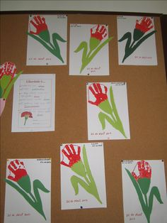 Carnations, Teaching, Reggio, Diy, Theme Days, May 1, Garden Art, Mother's Day, Early Childhood Education