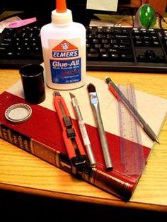 How To Do Stuff: How To Make a Secret Hollow Book: