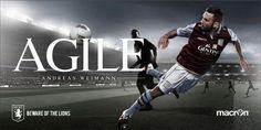 Aston Villa FC: Beware Of The Lions  (Outdoor)