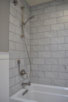 4x8 subway tile with 3x6 herringbone window www ...