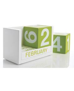how to make a paper block calendar