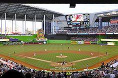 Marlins Park, Miami Marlins, Miami, Florida, Built in 2012