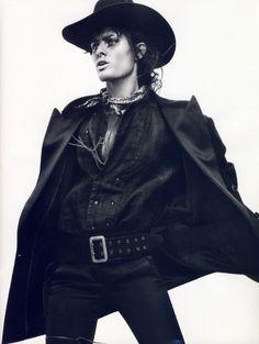 fakingfashion: Vogue Paris April 2011   Wanted!   David Sims