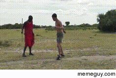 Meanwhile in Africa #gif #meanwhile #africa #animated #funny #humor #comedy #lol