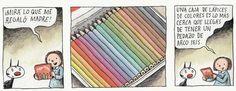 Amo los lapices de colores :)