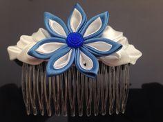 Flower comb clip