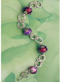 Berry Wine Bracelet - Interweave