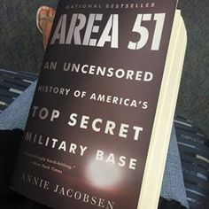 Area 51: An Uncensored History of America�s Top Secret Military Base, by Annie Jacobsen | 12 Books About Extraterrestrials That Will Blow Your Mind