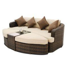 fine furniture village garden rattan effect seater corner sofa - Furniture Village Garden Furniture