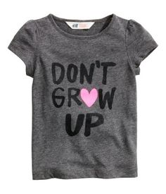H & M Dont grow up top