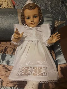 Jesus Clothes, Free Money, Flower Girl Dresses, High Neck Dress, Wedding Dresses, Crochet, How To Wear, Fashion, Lord