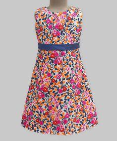 This Kashmir Garden Embroidered Grace Dress - Infant, Toddler & Girls is perfect! #zulilyfinds