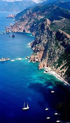 Corsica, France - every bit as beautiful as the photos!! <3