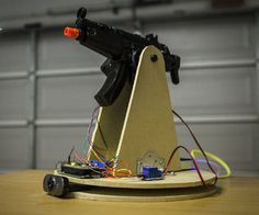 Raspberry Pi Motion Tracking Airsoft Turret