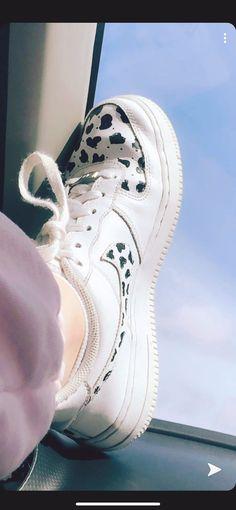Air Force Sneakers, Nike Air Force, Sneakers Nike, Cow Print, Shoes, Fashion, Nike Tennis, Moda, Zapatos