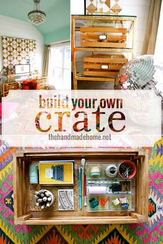 build your own crate - the handmade homethe handmade home