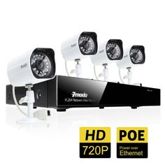 Special Offers - Zmodo 4CH 720P Network Video Recorder w/PoE Security Surveillance System With 4 Indoor/Outdoor Day/Night HD IP Cameras No Hard Drive - In stock & Free Shipping. You can save more money! Check It (May 16 2016 at 06:00AM) >> http://smokealarmusa.net/zmodo-4ch-720p-network-video-recorder-wpoe-security-surveillance-system-with-4-indooroutdoor-daynight-hd-ip-cameras-no-hard-drive/