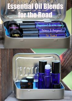 Essential Oil Blends for the road